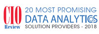 20 Most Promising Data Analytics Solution Providers - 2018